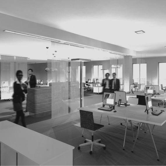 Bürokonzepte un Visualisierung